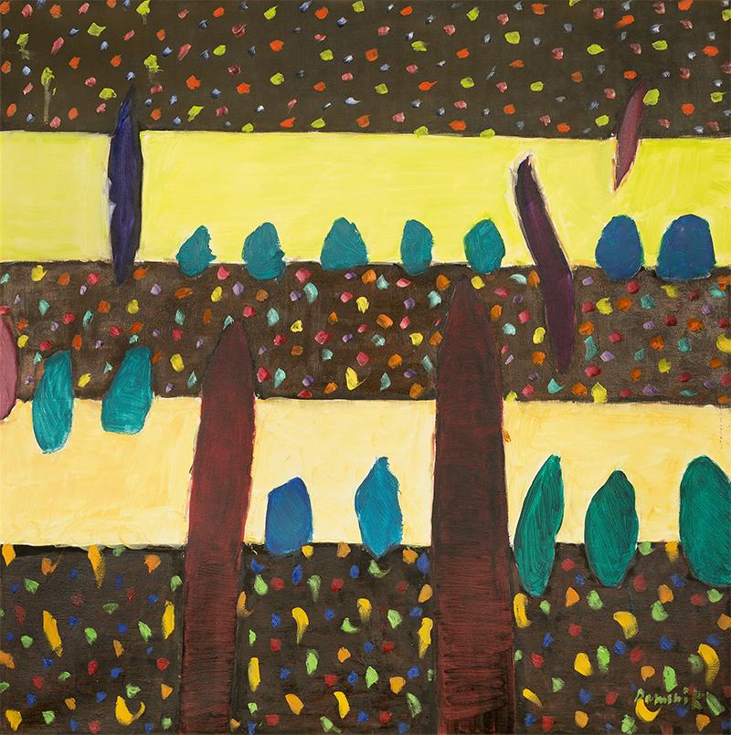 """Tadeusz Rolke, z cyklu Fischmarkt, 1978/1979, Hamburg, fotografia czarno-biała, odbitka srebrowa, papier fotograficzny 31 x 41 cm na odwrocie pieczęć artysty; odręczny podpis artysty: """"ARolke, 1978/79"""""""